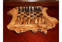 Schaakbord olijfhout medium